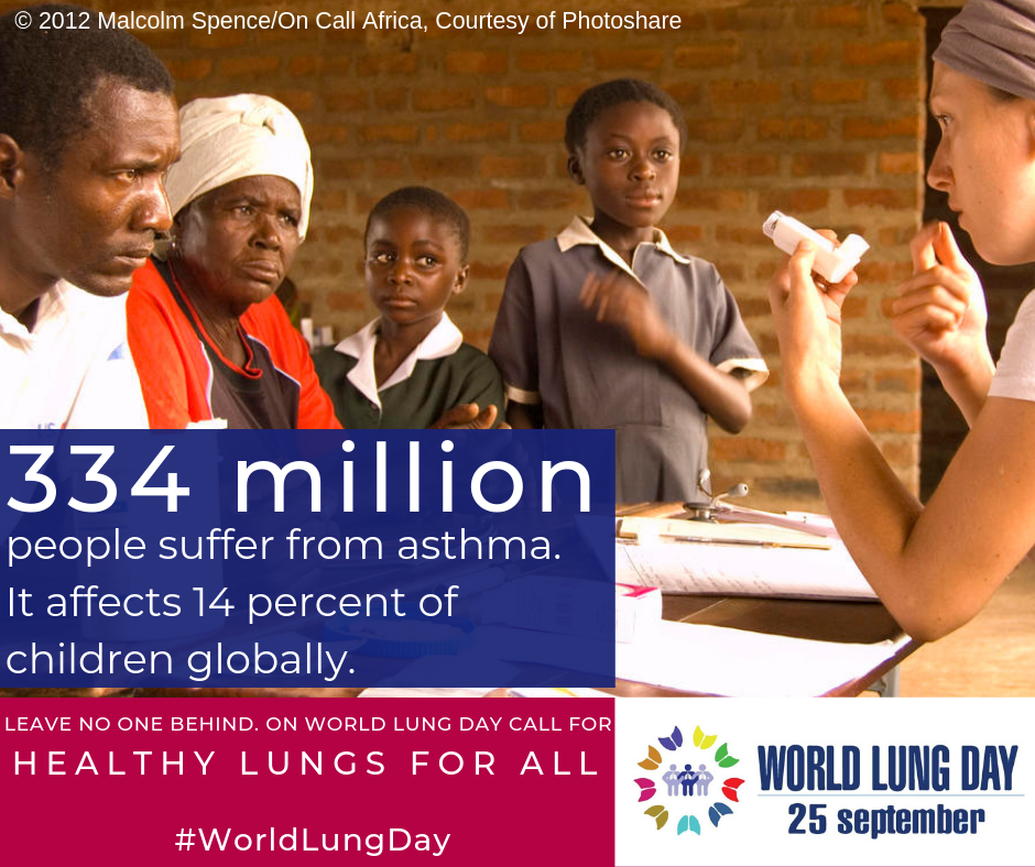 World Lung Day 2019: Respiratory Groups Unite to Call for Healthy Lungs for All