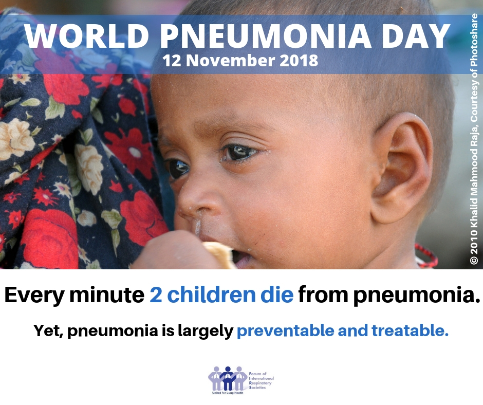 World Pneumonia Day 2018 Social Image 1