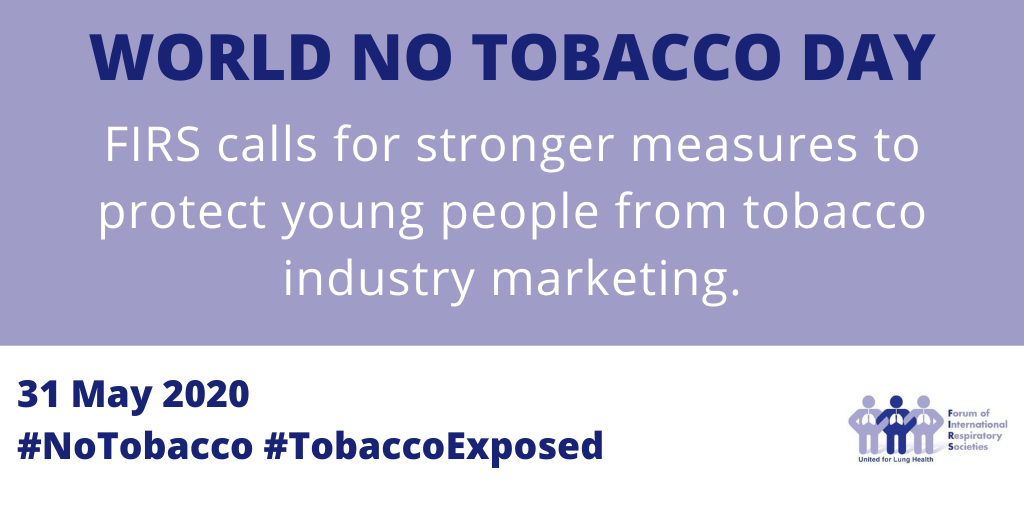 Respiratory groups call for stronger measures to protect young people from tobacco industry marketing