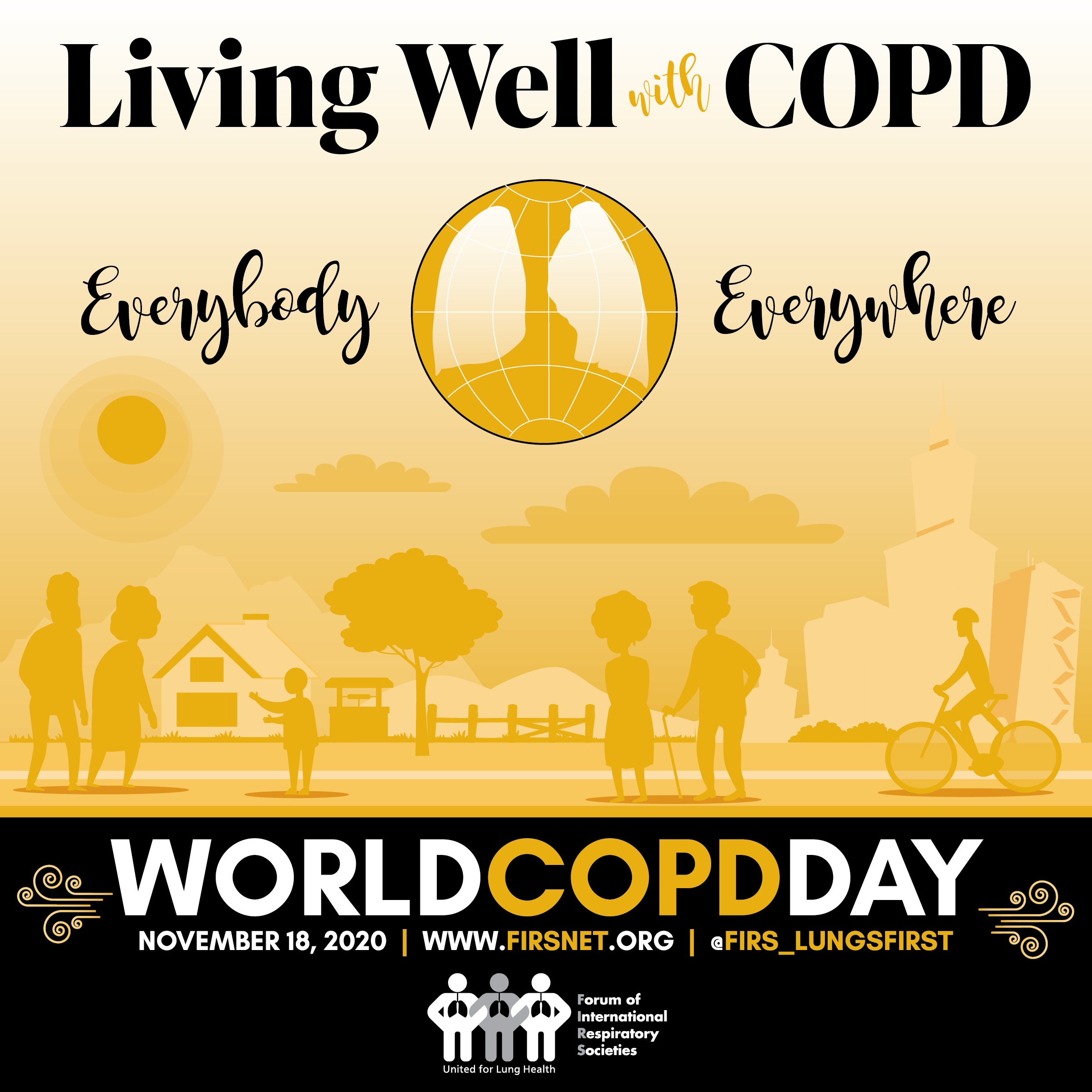 World COPD Day, 18 November