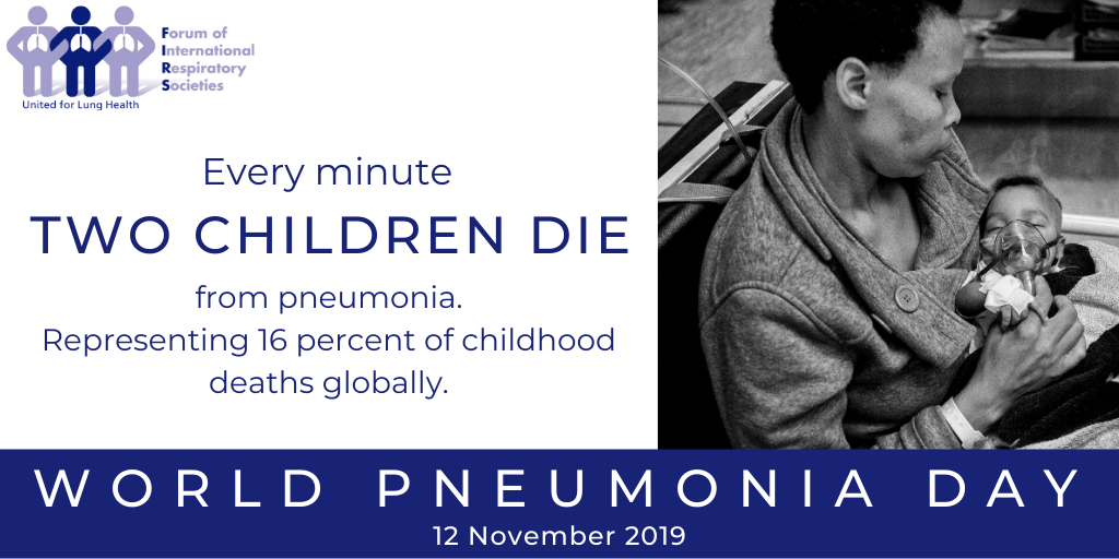 World Pneumonia Day: Respiratory groups call for an end to preventable pneumonia deaths
